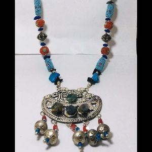 Boho Native American inspired necklace
